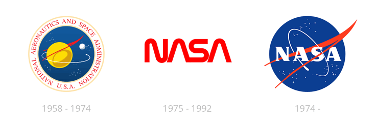 NASA Logo-Redesign History