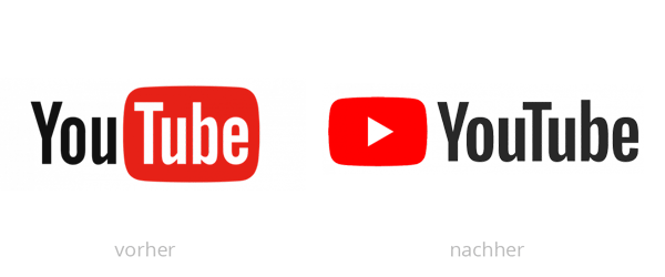 YouTube Logo-Redesign History